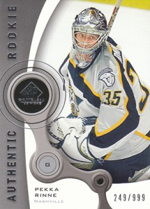 Pekka Rinne Rookie Cards Guide 2