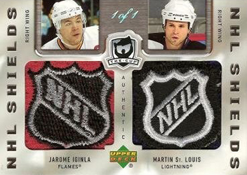 2005-06 UD The Cup Dual NHL Shield
