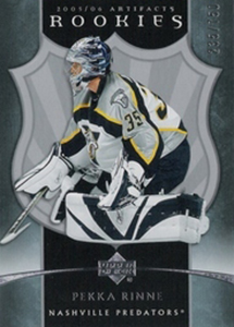 Pekka Rinne Rookie Cards Guide 3