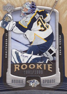 Pekka Rinne Rookie Cards Guide 9
