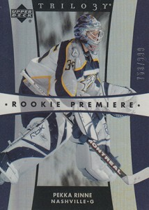 Pekka Rinne Rookie Cards Guide 5