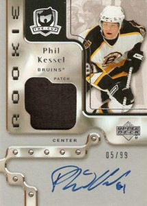 2006-07 Upper Deck The Cup Phil Kessel