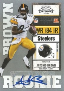 Antonio Brown Rookie Card Guide and Checklist 2