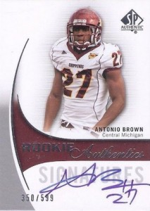 Antonio Brown Rookie Card Guide and Checklist 3