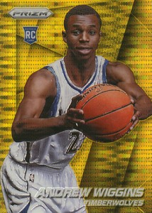 Andrew Wiggins Breaks Down the 2014-15 Panini Prizm Basketball Prizm Parallels 14