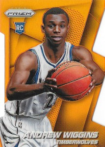 Andrew Wiggins Breaks Down the 2014-15 Panini Prizm Basketball Prizm Parallels 7