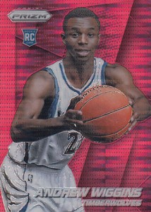 Andrew Wiggins Breaks Down the 2014-15 Panini Prizm Basketball Prizm Parallels 17