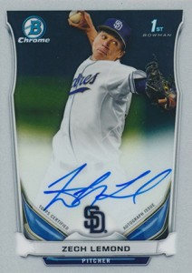 Ultimate 2014 Bowman Chrome Draft Autographs Guide 36