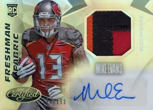 Mike Evans Visual Rookie Card Guide and Checklist 4