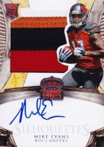 2014 Crown Royale Mike Evans RC #205 Autographed Jersey