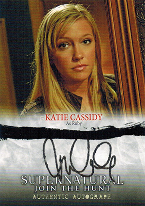 UPDATE - Did Katie Cassidy Use a Rubber Stamp on Her Supernatural Autograph Cards?  3