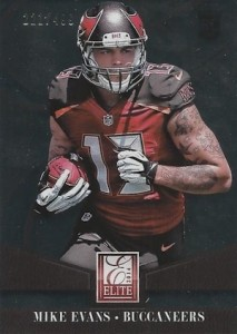 2014 Elite Mike Evans RC #174