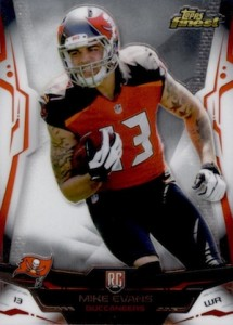2014 Finest Mike Evans RC #146