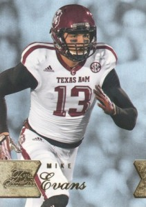 2014 Flair Showcase Row 1 Mike Evans #116