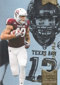 2014 Flair Showcase Row 2 #15 Mike Evans