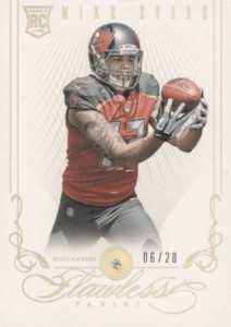 2014 Flawless Mike Evans RC #104 Diamond