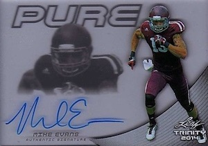 2014 Leaf Trinity Pure Autographs Mike Evans