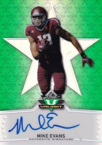 2014 Leaf Valiant Autograph Mike Evans