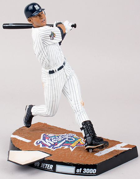 2014 McFarlane Derek Jeter World Series Figures 3