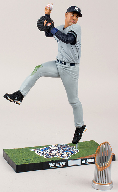 2014 McFarlane Derek Jeter World Series Figures 2000