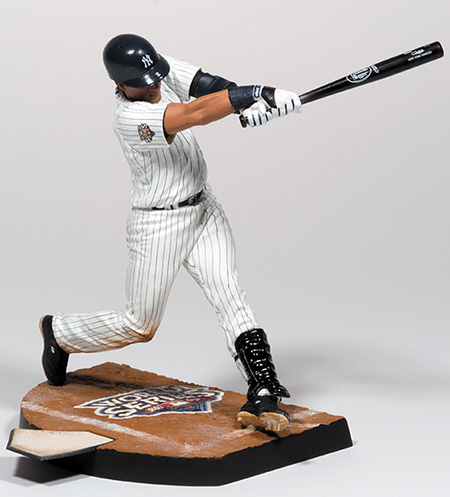 2014 McFarlane Derek Jeter World Series Figures 2009