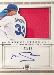 2014 National Treasures Marcus Stroman Silhouette