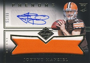Johnny Manziel Cards, Rookie Cards, Key Early Cards and Autographed Memorabilia Guide 38