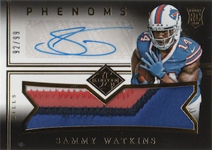 Sammy Watkins Rookie Card Guide and Checklist 37