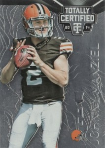 2014 Panini Totally Certified Johnny Manziel RC #168