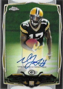 2014 Topps Chrome Football Rookie Autographs Guide 38