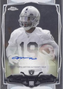 2014 Topps Chrome Football Rookie Autographs Guide 40