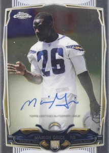 2014 Topps Chrome Football Rookie Autographs Guide 41