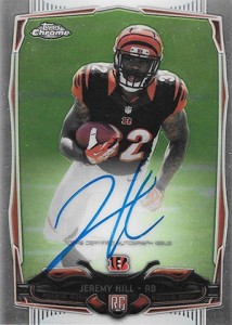 2014 Topps Chrome Football Rookie Autographs Guide 6