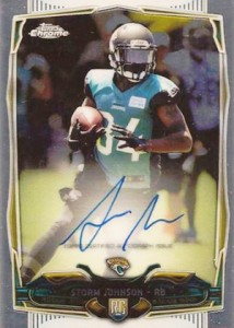 2014 Topps Chrome Football Rookie Autographs Guide 9