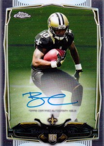 2014 Topps Chrome Football Rookie Autographs Guide 13