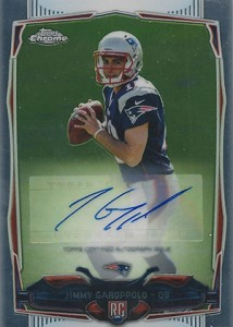 2014 Topps Chrome Football Rookie Autographs Guide 50