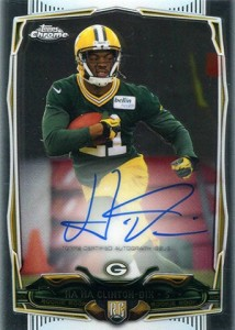 2014 Topps Chrome Football Rookie Autographs Guide 52