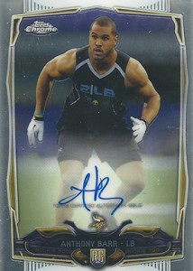 2014 Topps Chrome Football Rookie Autographs Guide 53