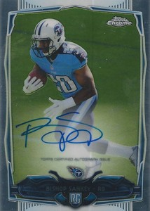 2014 Topps Chrome Football Rookie Autographs Guide 17