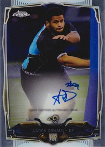 2014 Topps Chrome Football Rookie Autographs Guide 21