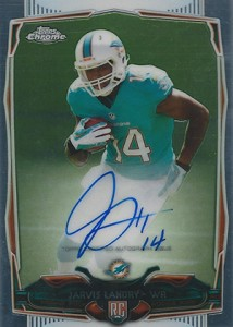 2014 Topps Chrome Football Rookie Autographs Guide 22
