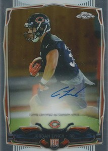 2014 Topps Chrome Football Rookie Autographs Guide 60