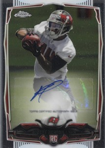 2014 Topps Chrome Football Rookie Autographs Guide 65