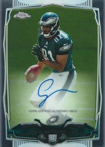 2014 Topps Chrome Football Rookie Autographs Guide 32