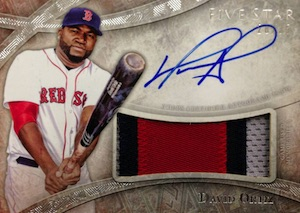 2014 Topps Five Star Baseball Cards 23