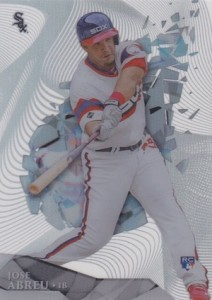 2014 Topps High Tek Baseball Base Jose Abreu RC