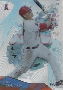 2014 Topps High Tek Mike Trout Promo Card