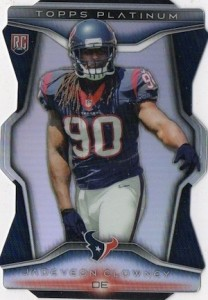 2014 Topps Platinum Football Die-Cut Rookies Clowney