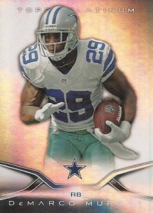 2014 Topps Platinum Football base DeMarco Murray