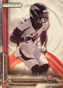2014 Topps Strata Football Variations Guide 12